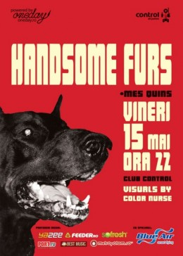 Handsome Furs 15 May 2009