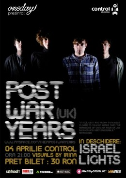 Post War Years 4 Apr 2009