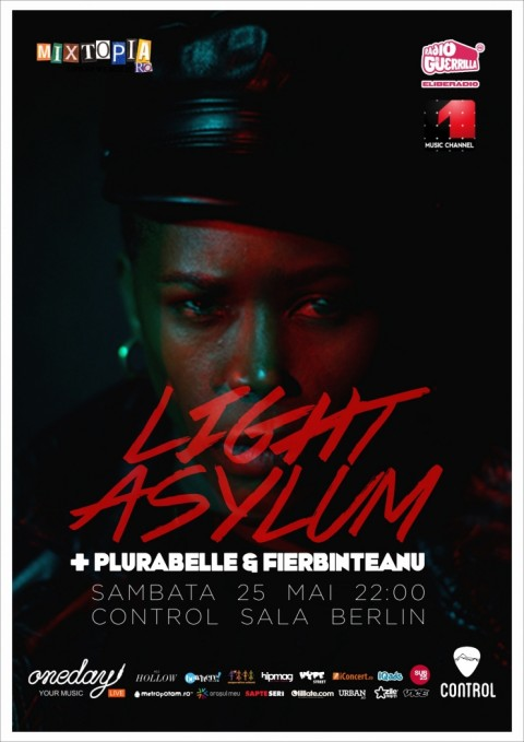 LIGHT ASYLUM – DARK SYNTHPOP DIN NEW YORK, LIVE LA BUCURESTI