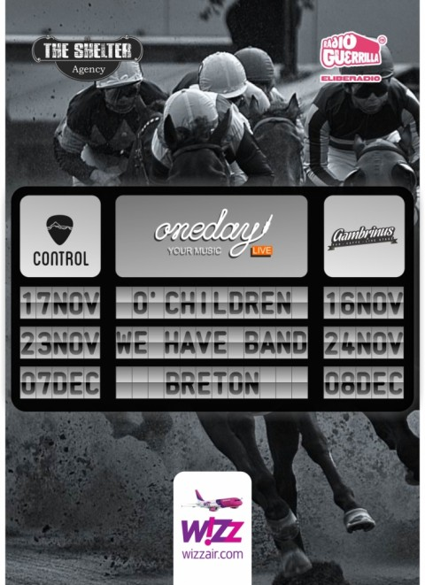OneDay Live: O.Children, We Have Band si Breton concerteaza la Bucuresti si Cluj-Napoca