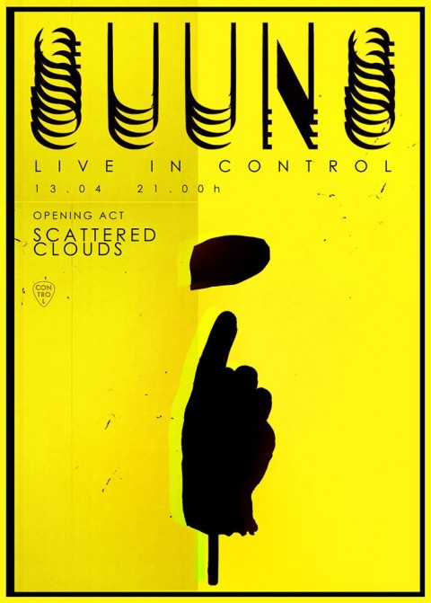 SUUNS și Scattered Clouds – live la Control Club , Aprilie 13
