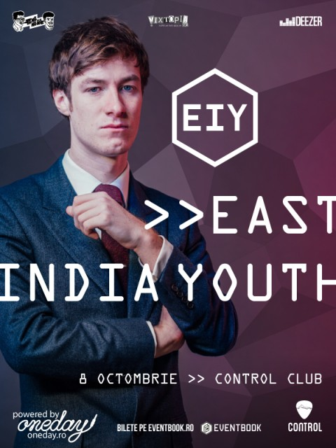 East India Youth, în concert la București! – 8 octombrie, Control Club –