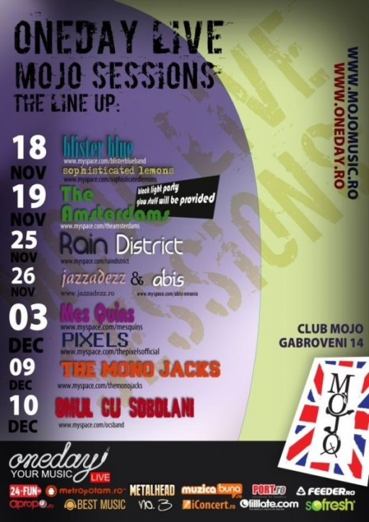 OneDay Live - Mojo Sessions part 1 2009