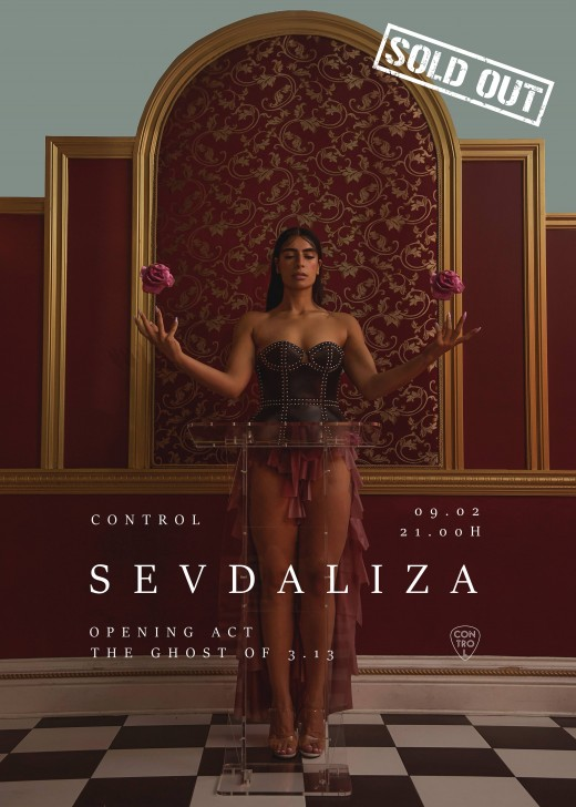 poster Sevdaliza Sold Out